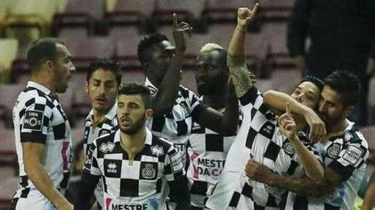 Boavista se llevó los tres puntos ante Paços Ferreira. EFE