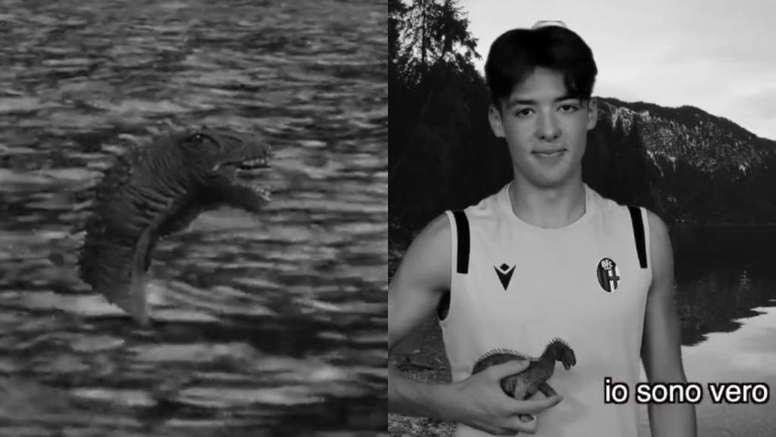Ficha a un escocés ¡y lo anuncia con un vídeo 'random' del monstruo del Lago Ness! Captura/Bologna