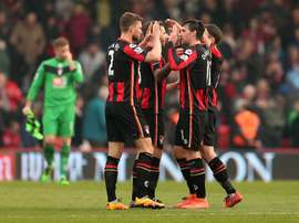 El Bournemouth se impuso por 3-2 al Swansea. AFC Bournemouth