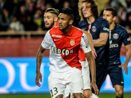 Wallace in action while on loan at Monaco. ASMonaco