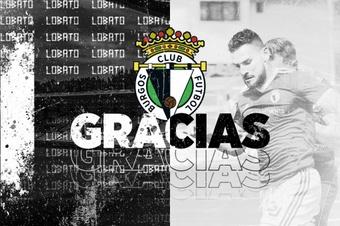 El Burgos confirmó la rescisión de contrato de Lobato y Cerrajería. Twitter/Burgos_CF