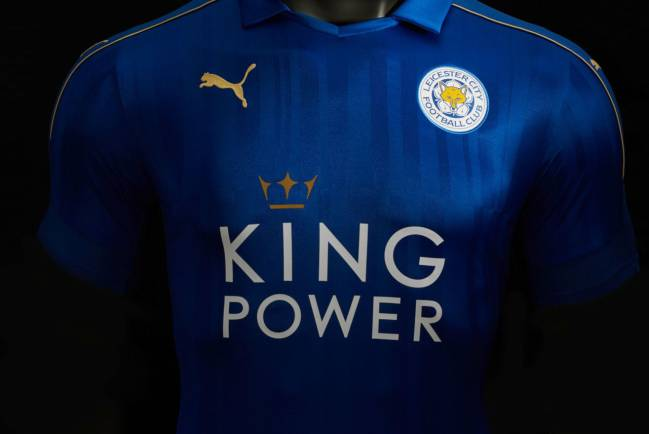 b02ac24ee6dc3 Pin Leicester City launch their new 2016-17 home kit. Puma