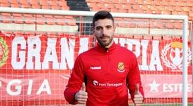 José Suárez ha cambiado Girona por Tarragona. Twitter/NASTICTARRAGONA