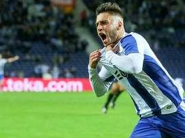 Rui Pedro llegó, vio y marcó en su segundo partido con el primer equipo. FCPorto