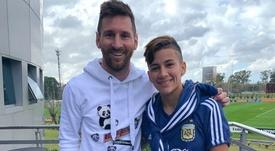 Lorena Benítez ya forma parte de la historia de Argentina. Twitter/LorenaBenitez
