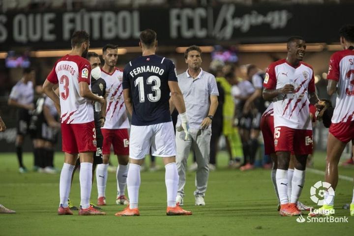 Fernando se hace con la titularidad de la portería del Almería. LaLiga