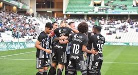 Dos jugadores del Cartagena dan positivo por coronavirus. Twitter/FCCartagena_efs