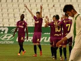 El Cartagena venció a domicilio por 0-1. Twitter/FCCartagena_efs
