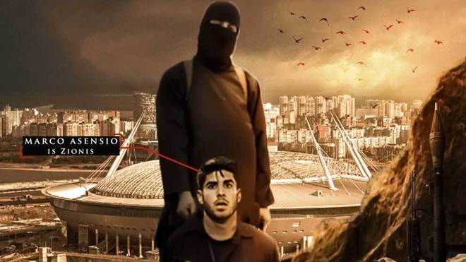 1d96b51438a Pin ISIS have also threatened Asensio ahead of the World Cup. SiteIntelGroup
