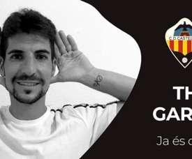 El Castellón dispone de tres nuevos refuerzos. Twitter/CD_Castellon