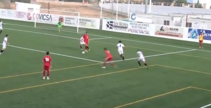 El Ibiza-Atlético Baleares, aplazado por COVID-19. EFE