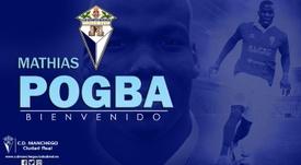 El hermano de Paul Pogba ficha por el CD Manchego de Tercera. AFP