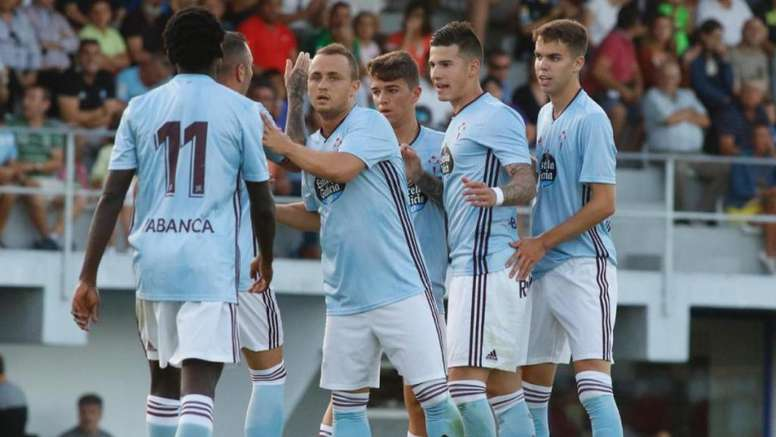 El Celta debutó con victoria en el primer amistoso de la pretemporada. Twitter/RCCelta