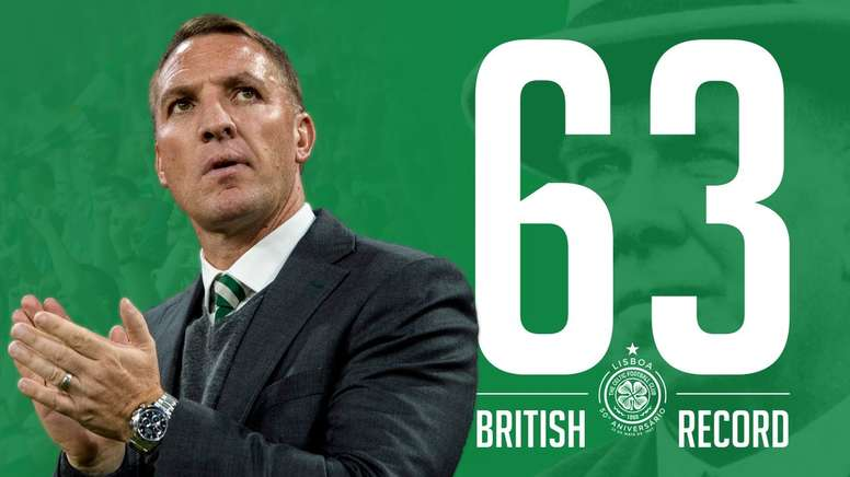 El Celtic bate un histórico registro en el fútbol británico. CelticFC