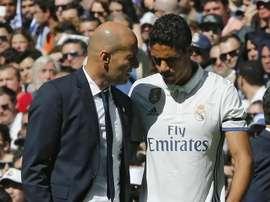 Varane vorrebbe dire addio al Real Madrid. EFE