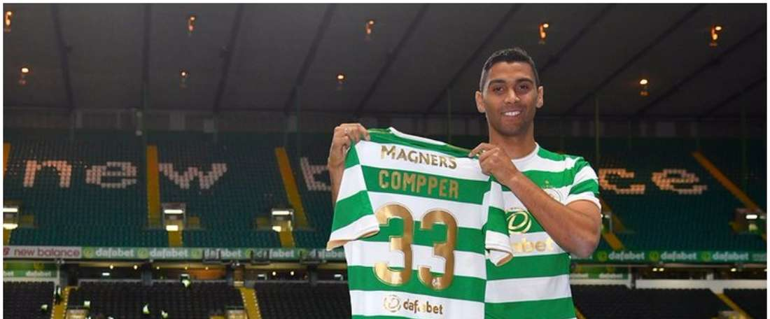 O zagueiro alemão chega à Escócia proveniente do RB Leipzig. CelticFC