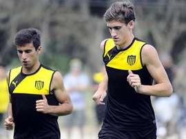 El Barcelona ha tardado en hacerse con Santiago Bueno. Penarol