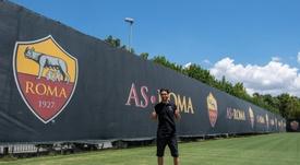 Pastore firmó por la Roma. ASRoma