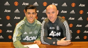 Arnau Puigmal is wanted by Barca B. ManchesterUnited