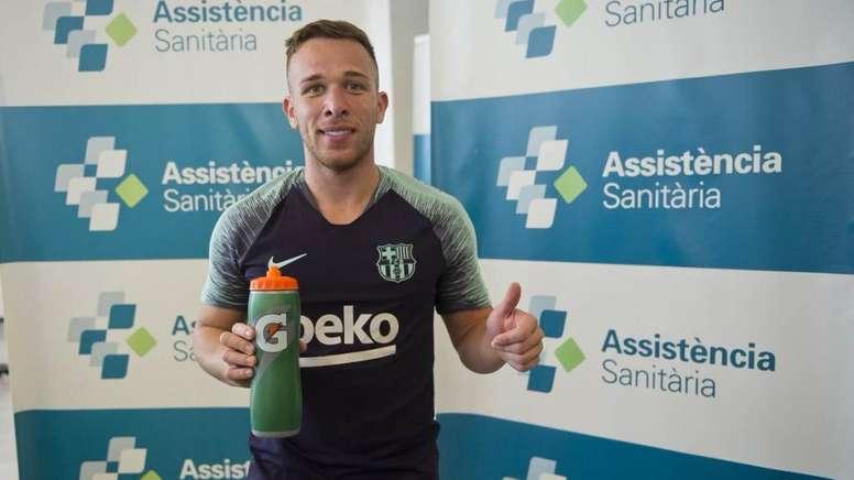 Arthur será presentado como nuevo jugador 'culé'. FCBarcelona