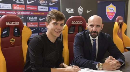 Ante Coric, o novo jogador da Roma. ASRoma