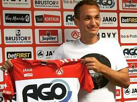 Yevheniy Makarenko, nuevo jugador del Kortrijk. AKVKortrijk