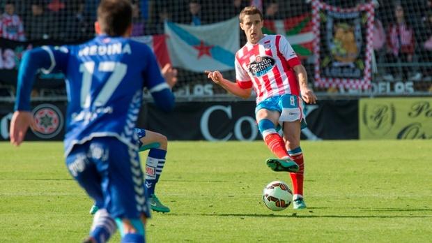 Seoane espera que el Lugo mejore de cara al partido ante el Lorca. CDLugo