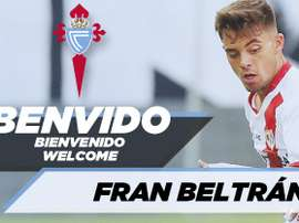 Fran Beltrán a dit au revoir au Rayo. Twitter/RCCelta
