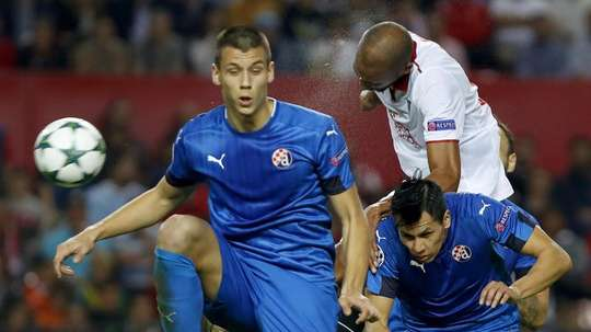 Benkovic joined Leicester from Dinamo Zagreb this summer. EFE/Julio Muñoz