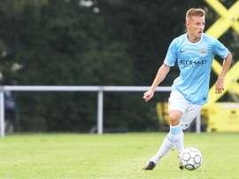 El centrocampista internacional en categorías inferiores del Manchester City, George Glendon. MCFC