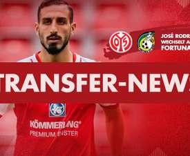 El Mainz lo ha anunciado. Twitter/1FSVMainz05