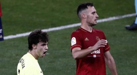 Victoria contundente del Atlético de Madrid en Pamplona. EFE/Jesús Diges