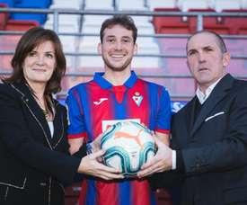 Podría debutar con el Eibar ante el Atlético de Madrid. SDEibar