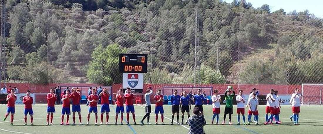 El conjunto valenciano ha hecho oficial la llegada del futbolista. CFBorriol
