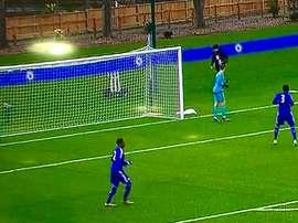 El Chelsea cambió las porterías tras el incidente con el Valencia. BeSoccer