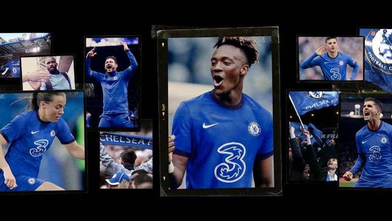 El Chelsea estrena nuevo patrocinador. Twitter/ChelseaFC