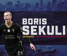 Le Chicago Fire se renforce avec Boris Sekulic. Twitter/ChicagoFire