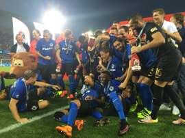 El Club Brugge gana la Supercopa. ClubBrugge