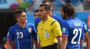 Referee Marco Rodriguez will coach third tier side Salamanca this season. AFP/Archivo