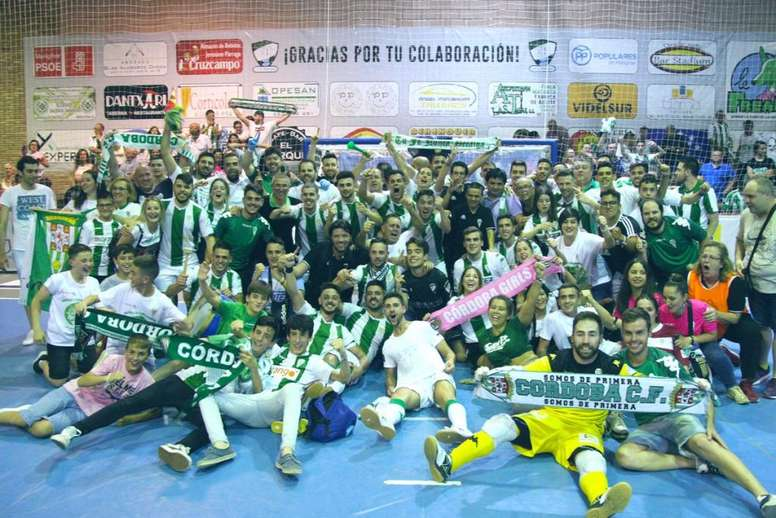 El Córdoba Futsal recibe el apoyo del Ayuntamiento. CordobaFutsal
