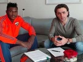 El CSKA de Moscú ha hecho oficial el fichaje del nigeriano Olanare. Twitter