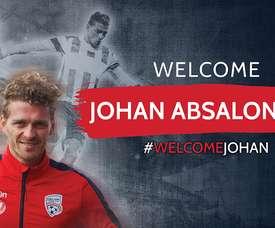 El volante danés Absalonsen es el nuevo refuerzo del Adelaide United.