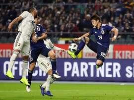 Con goles de Sakai y Rincón. EFE