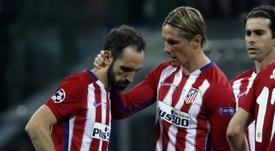 Juanfran estaría encantado de volver a coincidir con Torres. EFE