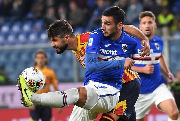 Bonazzoli jugará la próxima temporada en la Salernitana. EFE