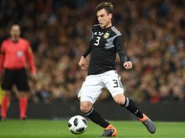 Tagliafico mostró su apoyo a Messi. AFP