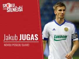 Jakub Jugas ya es nuevo jugador del Slavia de Praga. SlaviaOfficial
