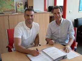 Marc Torrejón ya ha firmado su nuevo contrato con el Unión Berlín. FCUnionBerlín
