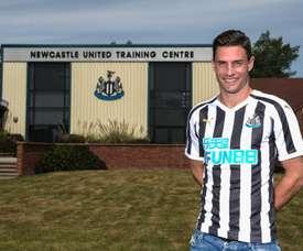 Schär is ready. Newcastle