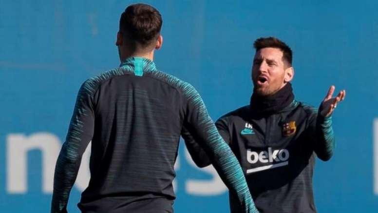 ¡Messi no viaja a Milán! Vuelve Ansu Fati y también descansa Piqué. EFE